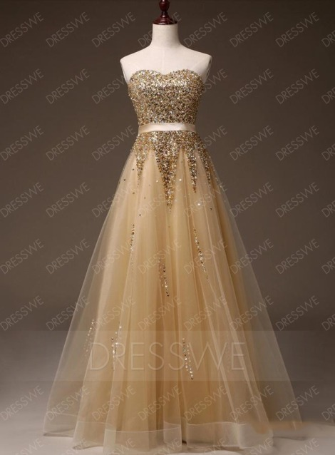 Apealing Sweetheart Neck Beading Zipper-up Sleeveless A-line Floor Length Evening Dress