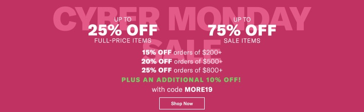 Cyber Monday at Shopbop